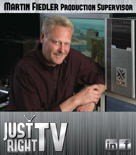 Just Right TV Martin Fiedler