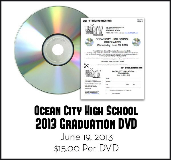 Ocean City High School 2013 Graduation DVD