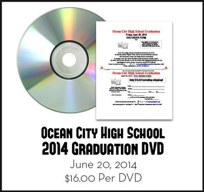 2014 Ocean City High School Graduation