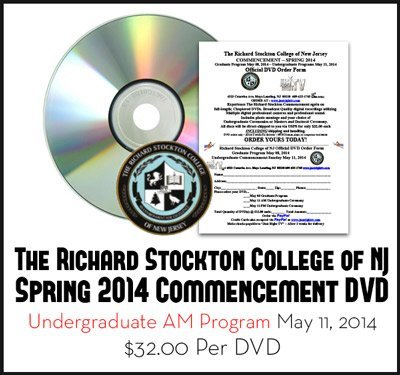 Stockton 2014 Graduation - AM Undergraduate