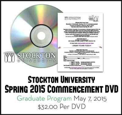 Stockton University Graduation Order Form Grad
