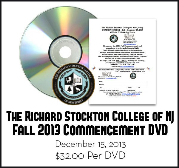 Stockton Graduation Fall 2013 DVD