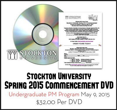 Stockton Graduation Spring 2015 DVD Undergrad PM