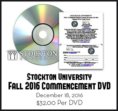 Fall 2016 Stockton University Graduation