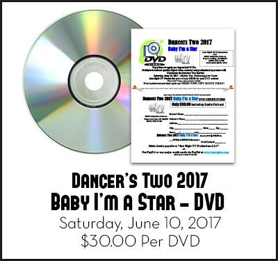 Dancer's Two 2017 Baby I'm A Star June 10, 2017