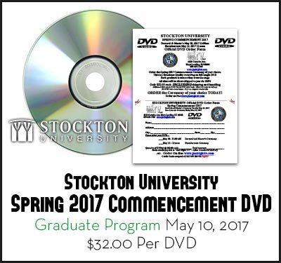 Stockton University Spring 2017 Doctoral and Masters Ceremony May 10 2017 DVD