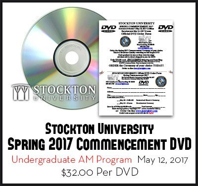 Stockton University Spring 2017 Undergraduate Ceremony May 12 2017 DVD
