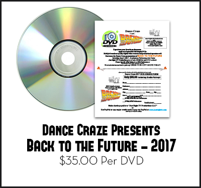 Dance Craze Back to the Future DVD June 3, 2017