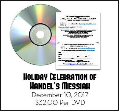 2017 Holiday Celebration of Handel's Messiah DVD by Just Right TV Productions