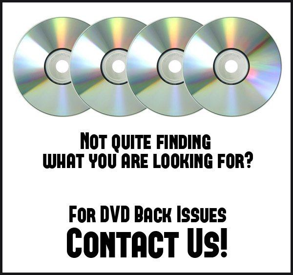Contact Just Right TV Productions for Back Issued DVDs