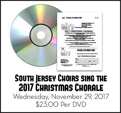 2017 Christmas Chorale DVD Wednesday, November 29, 2017 DVD by Just Right TV Productions