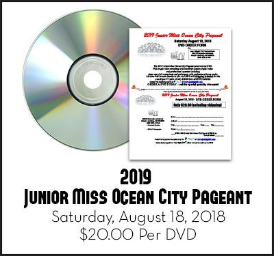Junior Miss Ocean City Pageant 2019