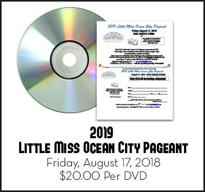 Little Miss Ocean City Pageant 2019