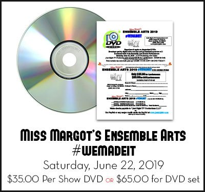 Miss Margot's Ensemble Arts Dance Performance DVD for 2019 show #wemadeit