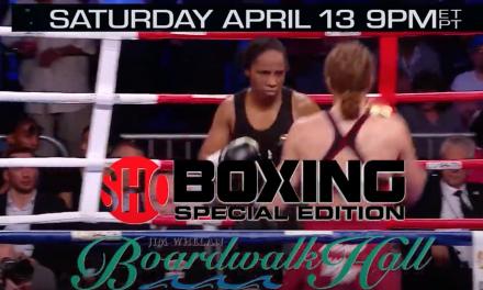 Atlantic City Boardwalk Hall Boxing Main Event Commercial