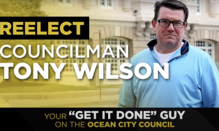 Ocean City New Jersey Councilman Tony Wilson Ad