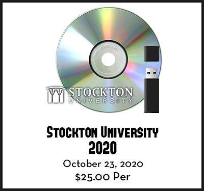 stockton university graduates 2020 video dvd flash drive