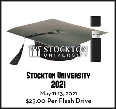 stockton university spring 2021 Graduation video dvd flash drive