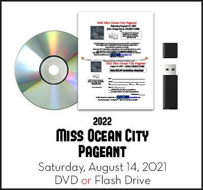 2022 Miss Ocean City Pageant Recording Video DVD Flashdrive